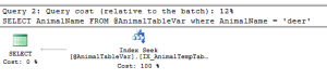 Non-Clustered Indexes For Table Variables