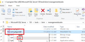 SQL Server Management Studio Dark Theme Edit
